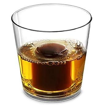 Juego de vasos de chupito, ideal para chupitos Jager, vasos reutilizables, vasos de chupito de plástico, policarbonato, 125 ml, 25 ml, 100 ml, 24 ...