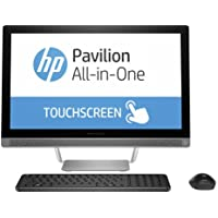 Newest HP Pavilion All-in-One 23.8 Full HD Touchscreen Flagship Premium Desktop | Intel Core i5-6400T | 12GB RAM | 1TB HDD | DVD±RW | Wireless Keyboard & Mouse | Windows 10 Home
