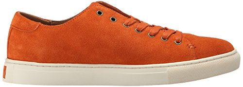 Polo Ralph Lauren Heren Jermain Fashion Sneaker Bright Signal Orange