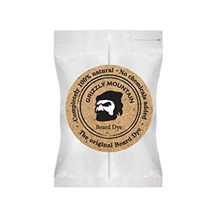 Organic & Natural Beard Dye - Grizzly Mountain (Brown)