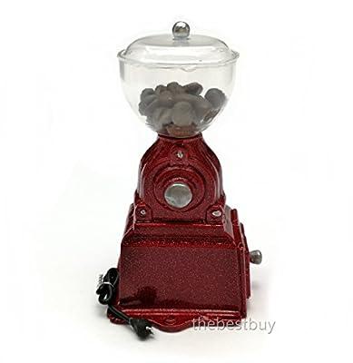 Dollhouse Miniature Accessories Kitchen Red Coffee Grinder Machine by JJ Handicraft