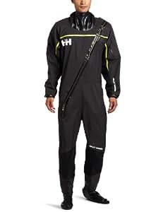 Helly Hansen Men's Hydro Power Dry Suit, Ebony, XX-Large