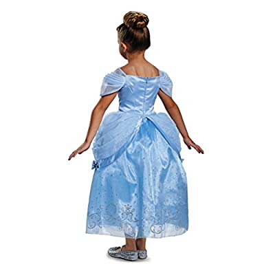 Prestige Disney Princess Cinderella Costume, Small/4-6X: Toys & Games