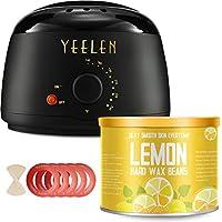 Yeelen Wax Warmer Lemon Essential Oil Hair Removal Waxing Kit