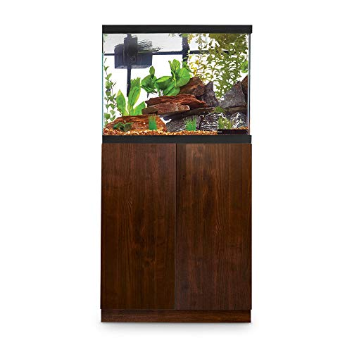 Imagitarium Faux Woodgrain Fish Tank Stand, Up to 29 Gal, 12.25 in, Natural Wood