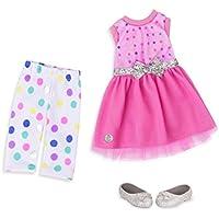 [Patrocinado] Battat Glitter las niñas Getting Glittery. Outfit