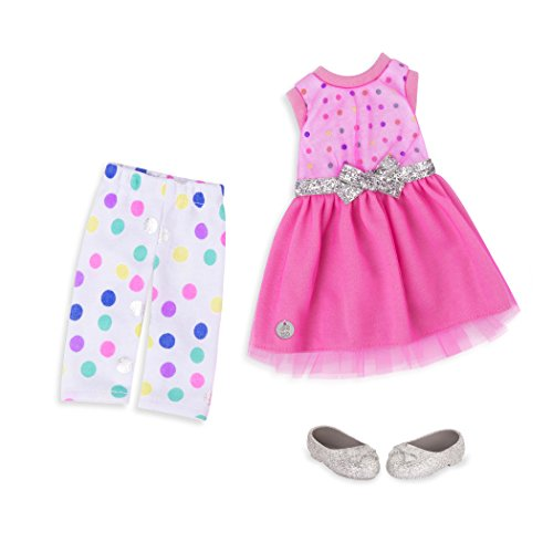 Glitter Girls by Battat - Stay Sparkly Dress & Leggings Regular Outfit - 14