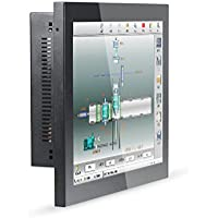 15 Inch Industrial Embedded Touch Panel PC With 2 COM 1 LPT 1037U Z13 (8G RAM 128G SSD 500G HDD)