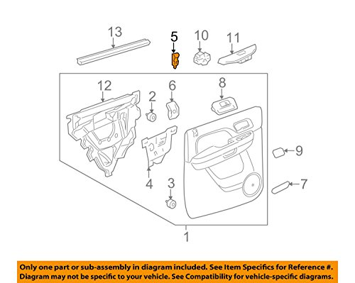 Fit Specific Truck Types (General Motors, KNOB, 15844616)