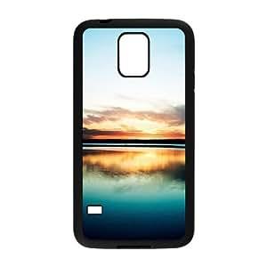 Sunset,Beach,Sea Samsung Galaxy S5 Case, Customize Sunset,Beach,Sea Case for Samsung Galaxy S5