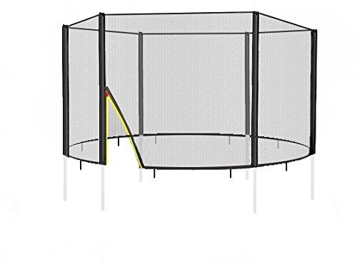 BL-F-245 Sicherheitsnetz für Garten- Trampolin 245cm für 6x Stangen