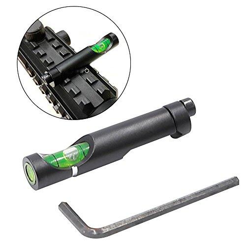 Photo - Higoo® Bubble Level for 20mm Picatinny Waver Rail Rifle Scope