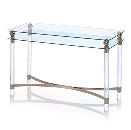 Miraculous Amazon Com Rectangular Contemporary Sofa Table With Storage Evergreenethics Interior Chair Design Evergreenethicsorg