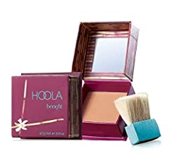 Manufacturer: Benefit Hoola Matte Bronzer. Hoola Matte Bronzing Powder travel size mini! Dust this super portable prestige bronzer over your chin, cheeks, and forehead for a natural-looking glow all year round. Perfect for all skin tones, thi...