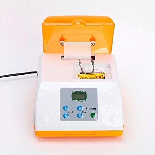 Dental High Speed Amalgamator HL-AH G8 Amalgam Capsule Mixer Blender Orange by Purple-Violet