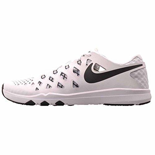 NIKE Mens Train Speed 4 Training Shoe (White/Black, 11 D(M) US)