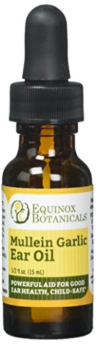 - Equinox Botanicals Mullein Garlic Ear Oil .5 oz