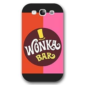 UniqueBox Willy Wonka Custom Phone Case for Samsung Galaxy S3, DC comics Willy Wonka Customized Samsung Galaxy S3 Case, Only Fit for Samsung Galaxy S3 (Black Frosted Shell) WANGJING JINDA