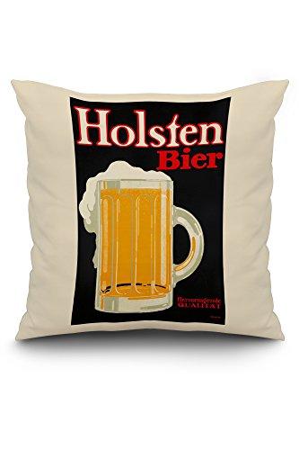 holsten-bier-vintage-poster-artist-klinger-germany-c-1916-20x20-spun-polyester-pillow-white-border