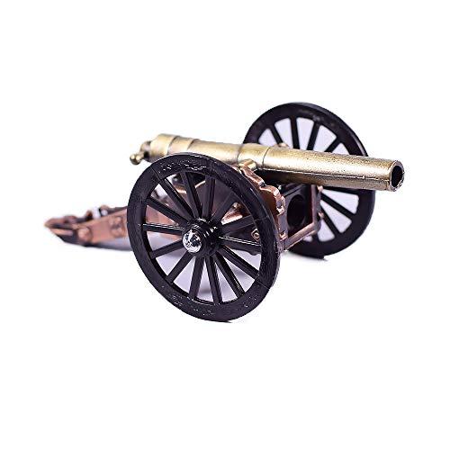 EliteTreasures Metal Die Cast Civil War Cannon Sharpener - Miniature Rare Collectible Figurine - War Pencil Sharpener - Military ()