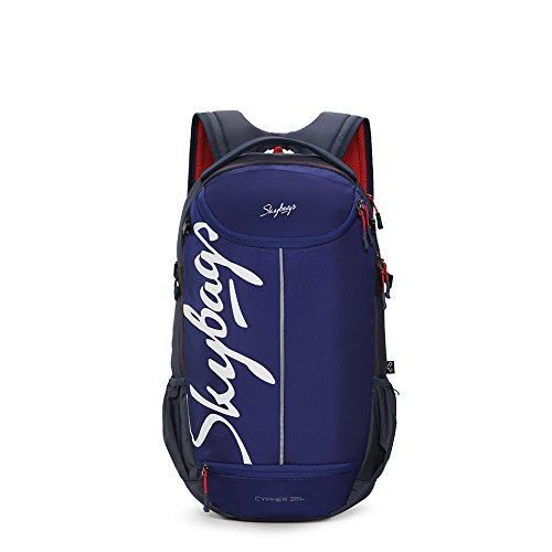 Skybags Cypher 17 inch 35 Ltrs Blue Weekender Backpack