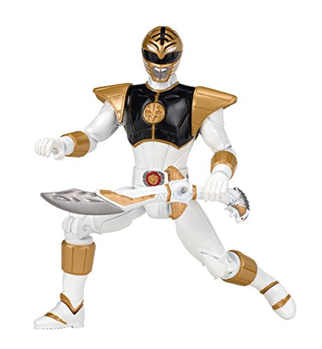 Power Rangers Legacy Mighty Morphin Movie 5-Inch White Ranger Action Figure (Power Rangers White Ranger Toy)