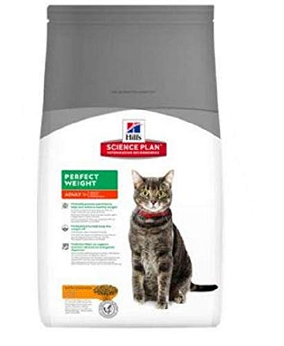 Hills Pienso para Gatos Adultos Science Plan Perfect Weight Pollo