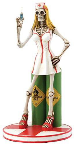 Sexy Skull Nurse Collectible Figurine