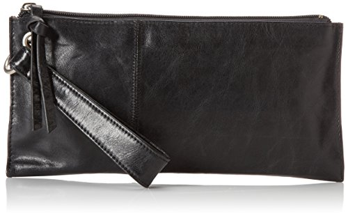 (HOBO Vintage Vida Clutch,Black,One Size )