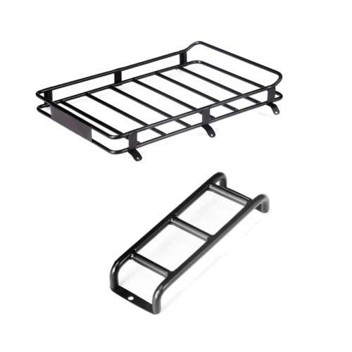FidgetGear Car Roof Luggage Rack / Staircase Rack for 1:10 Ford Bronco TRX4 90046 90047 km2 Luggage Rack+Staircase from FidgetGear