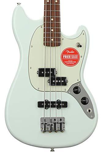 Fender Mustang PJ Bass - Pau Ferro Fingerboard - Sonic Blue