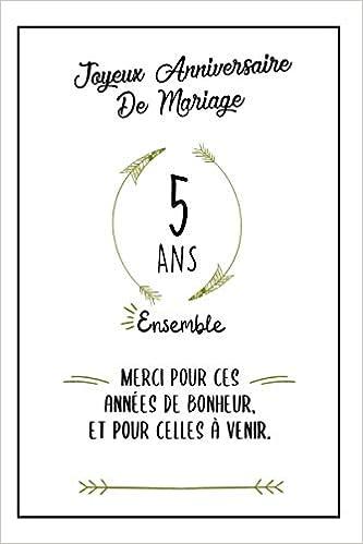 Joyeux Anniversaire De Mariage Carnet Idee Cadeau Noces