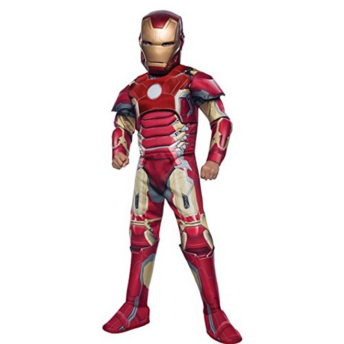 Marvel Avengers Age of Ultron- Iron Man Costume Boys, Large Red]()