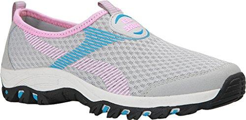 Aqua Respirant Gris Femme De Sports Rose Hommes Chaussures Sneakers Plateforme Baskets Gaatpot Mesh vUxnZqwaS