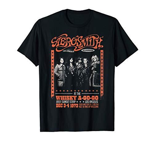Aerosmith - Whisky T- Shirt