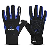 INBIKE Men's Winter Cold Weather Thermal Windproof Gel Bike Gloves...