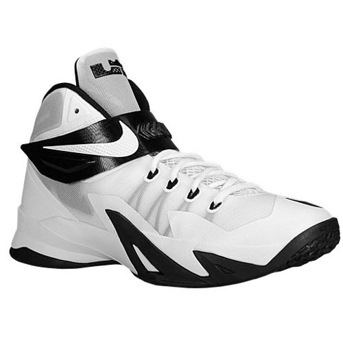 Price comparison product image Nike Men's Lebron Soldier VIII tb Basketball Shoes-White/Black-11