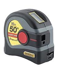 General Tools LTM1 2-in-1 Laser Tape Mea...