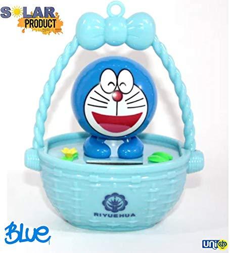 UNIq Cute Car Solar Power Decoration Dancing Doraemon/Doremon Car Interior Decoration Car Interior Products…