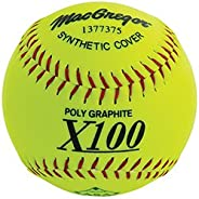 "MacGregor X52RE ASA Slow Pitch 12"" Softball -"