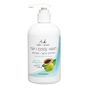 aden + anais tear-free hair and body wash