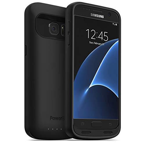 PowerBear Samsung Galaxy S7 Edge Battery Case [5000 mAh] Up to 140% More Battery