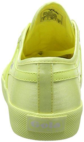 Gola Satin Baskets Neon Coaster Femme Yellow BSgOqPxB