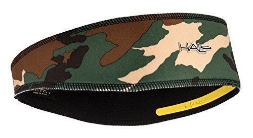 Halo II Headband Sweatband Pullover Camo - Running Headband Moisture Wicking