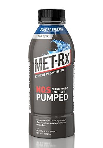 MET Rx%C2%AE Pumped Blue Raspberry ounce