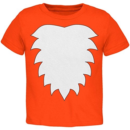 [Fox Costume Orange Toddler T-Shirt - 4T] (Fox Costumes Kit)