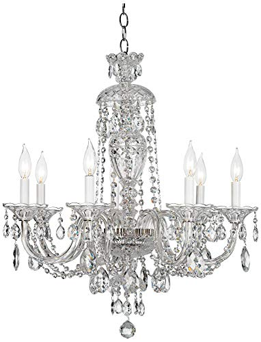 Schonbek 2995-40H Swarovski Lighting Sterling Chandelier, Silver ()