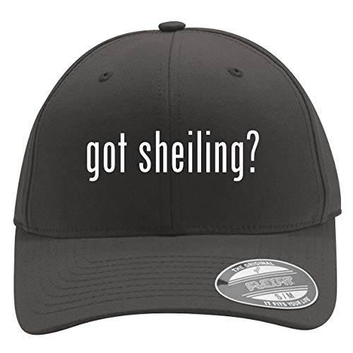 got Sheiling? - Men's Flexfit Baseball Cap Hat, Dark Grey, Large/X-Large
