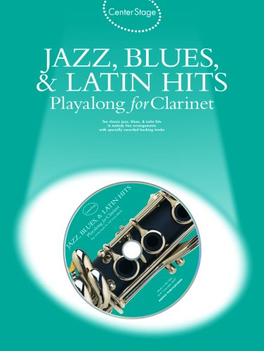 Jazz, Blues & Latin Hits Play-Along: Center Stage Series ()