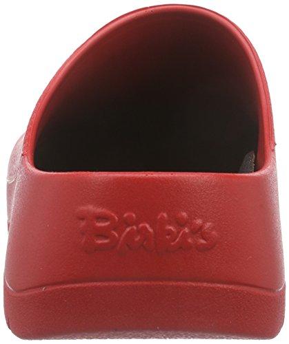 Birki's - Zuecos unisex Rojo